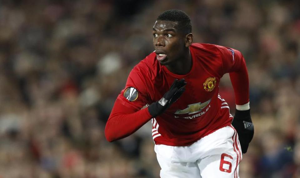 Manchester United star Paul Pogba will face brother and Saint-Etienne defender Florentin Pogba in the Europa League clash.
