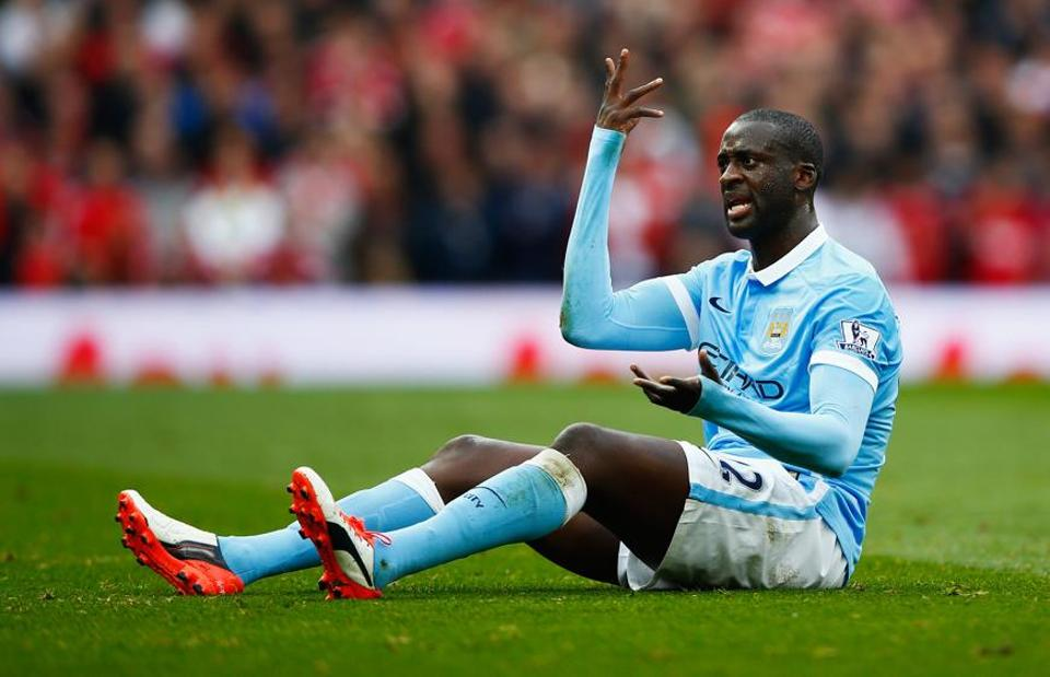 Yaya Toure,Manchester City,Ivory Coast
