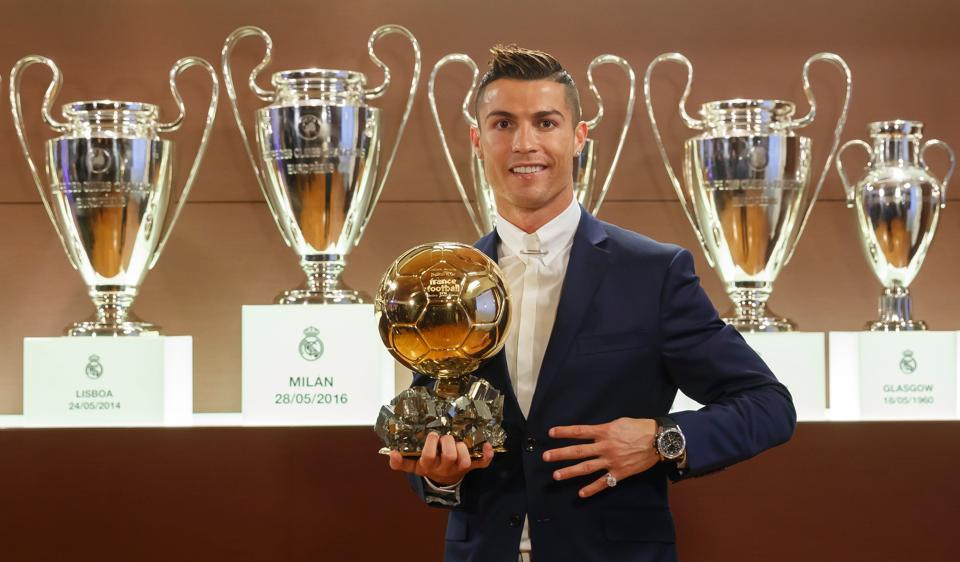 Real Madrid forward Cristiano Ronaldo feels unable to celebrate his fourth Ballon d'Or award as much as his previous triumphs due to recent allegations of tax evasion.