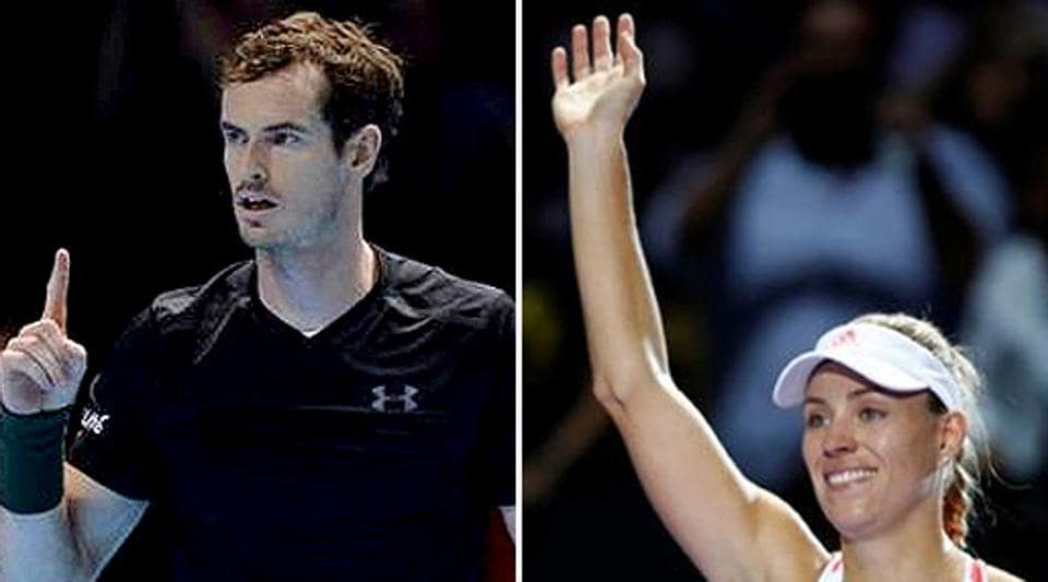 Andy Murray,Angelique Kerber,ITF World Champions