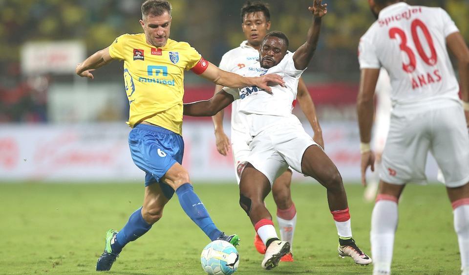 Delhi Dynamos vs Kerala Blasters,Delhi Dynamos FC vs Kerala Blasters FC,Live football score