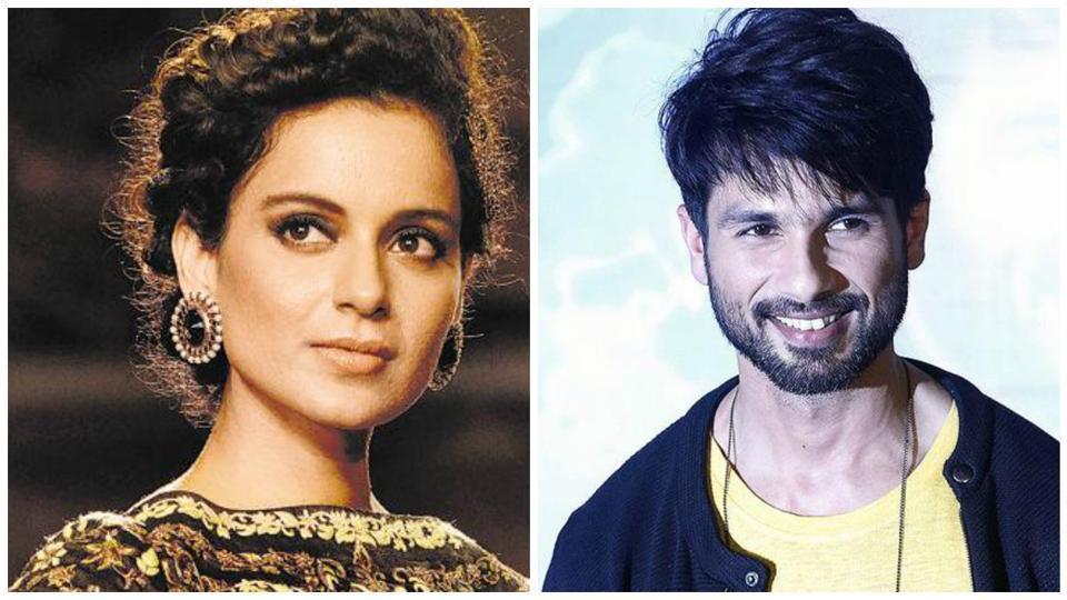 Kangana and Shahid are shooting for Vishal Bhardwaj's Rangoon.