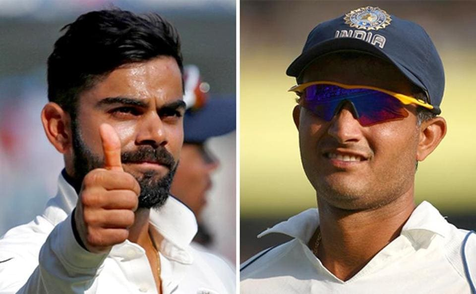 Virat Kohli,Sourav Ganguly,India vs England