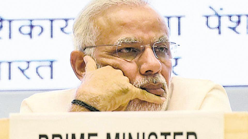 File photo of Prime Minister Narendra Modi .