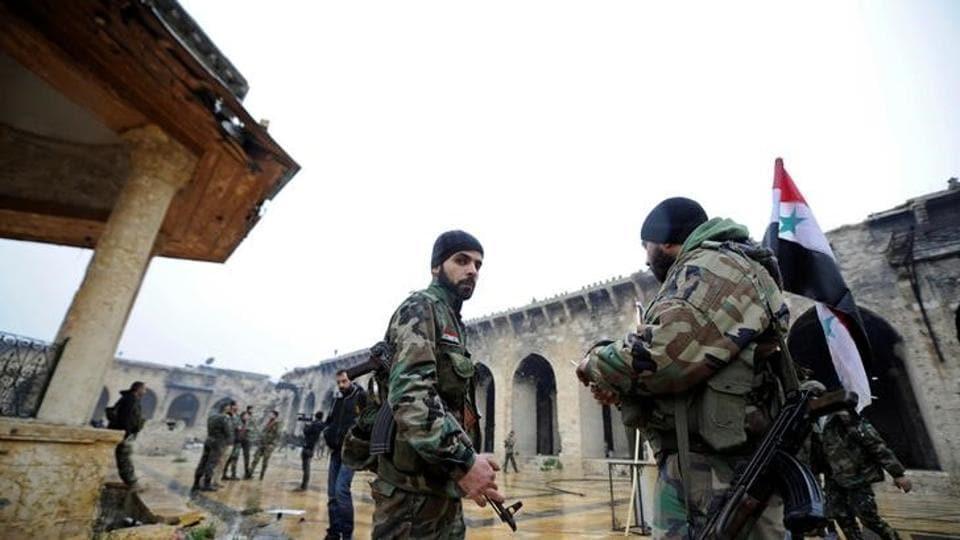 Aleppo battle,Syrian army,Syrian Rebels
