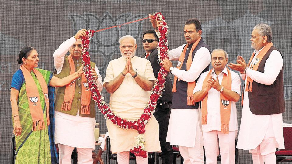 The party has decided to limit the number of leaders who will be on stage along with the PM at rallies up to seven, and not more than 11 in poll-bound states.