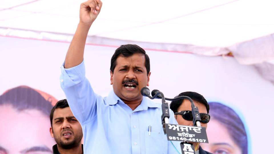 File photo of Aam Aadmi Party (AAP) convener and  Delhi Chief Minister Arvind Kejriwal.