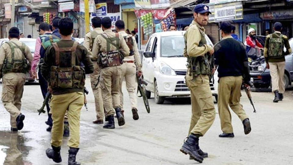 Jammu & Kashmir,Police,Security