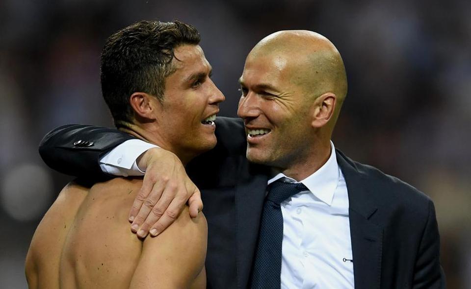 Cristiano Ronaldo,Zinedine Zidane,Real Madrid
