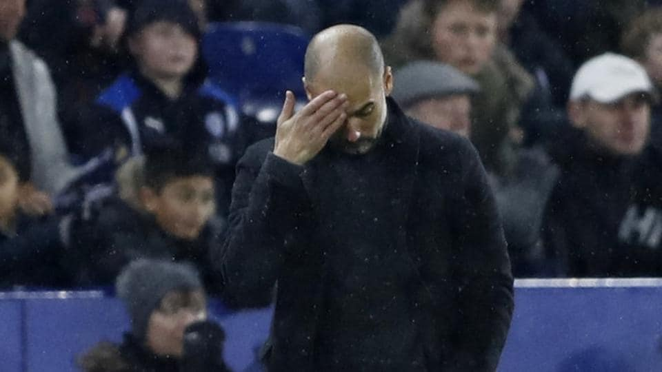 Manchester City manager Pep Guardiola knows if the results don't improve he may get the sack.