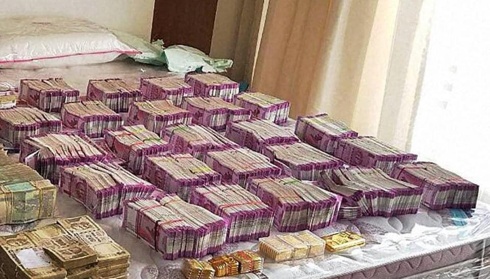 Demonetisation,Income Tax raid,Black money