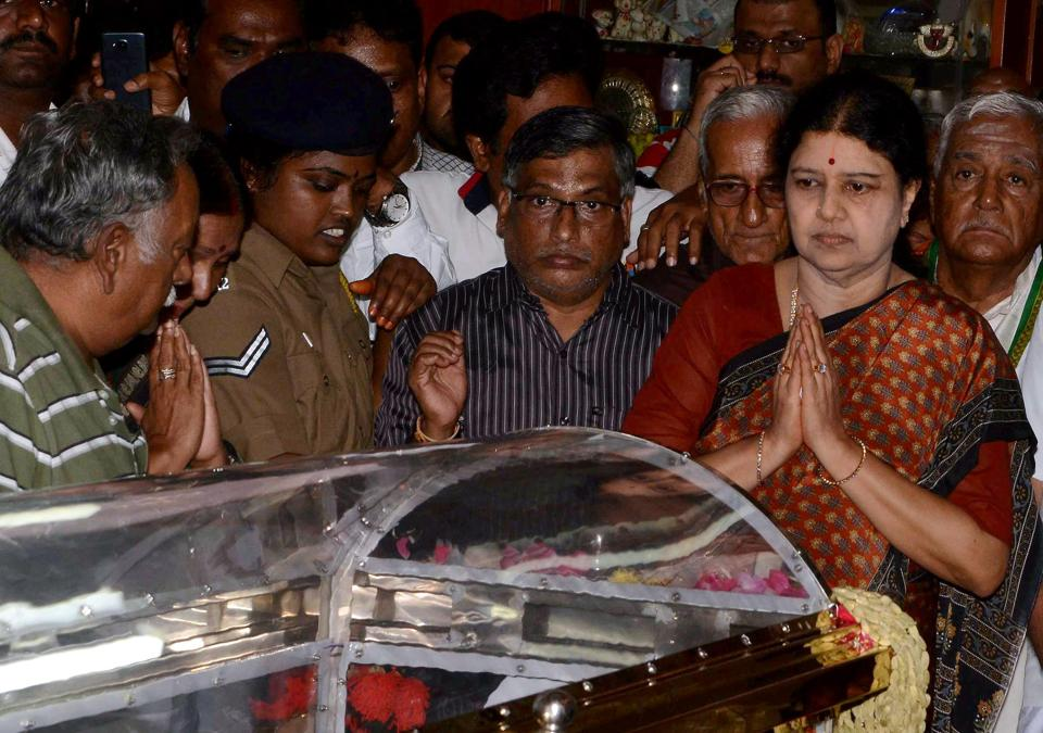 Sasikala Natarajan  has never contested an election for public office. She also faces cases related to corruption charges, which she will have to factor in before deciding her course of action.