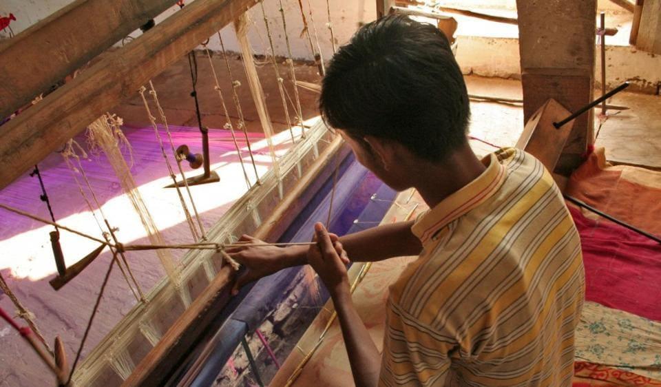 cash-crunch hit weavers,weavers in Maheshwar and Chanderi,demonetisation