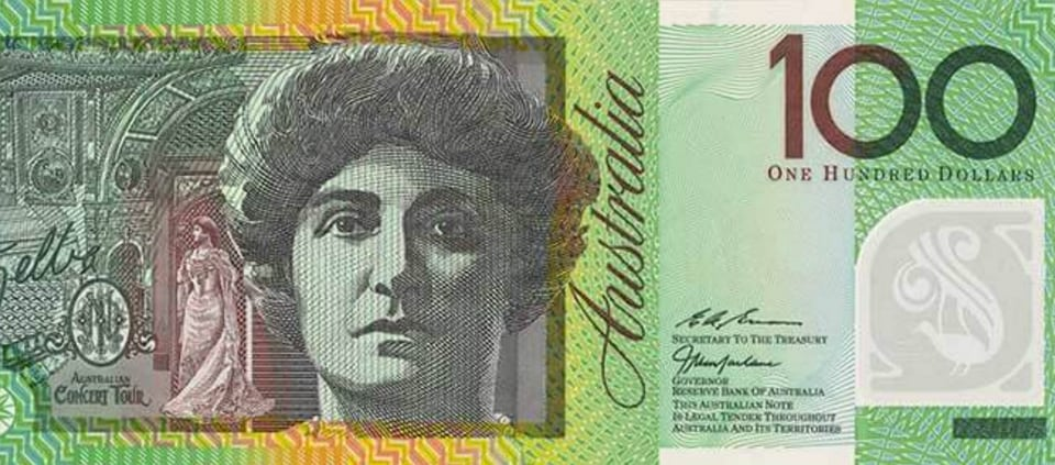 demonetisation,Australia demonetisation,Australia 100$ note