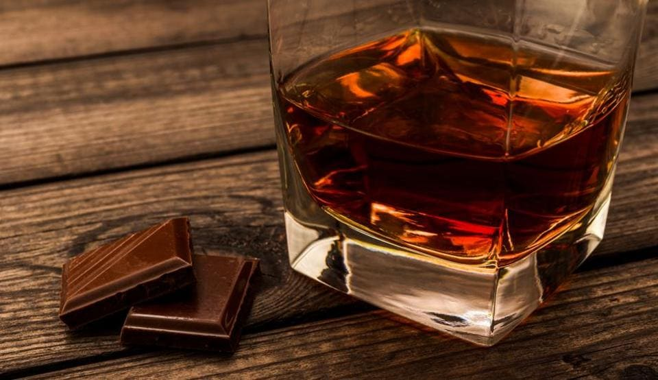 Best of both worlds: Milk chocolate makes for a good pairing with fruity whisky
