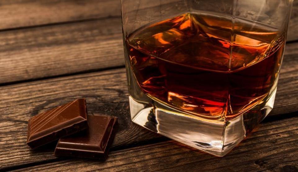 Chocolates,Champagne,Rum