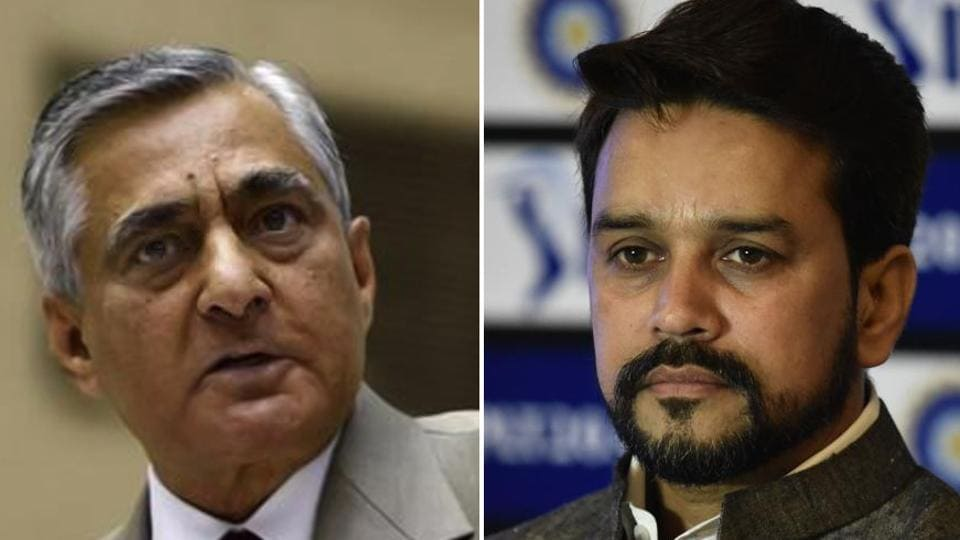 Chief Justice of India (CJI)TS Thakur ripped apart BJP MP and BCCI president Anurag Thakur's every defence on the matter regarding his request for a 'letter' from ICC chairman Shashank Manohar, lambasting the Board president for 10 minutes.