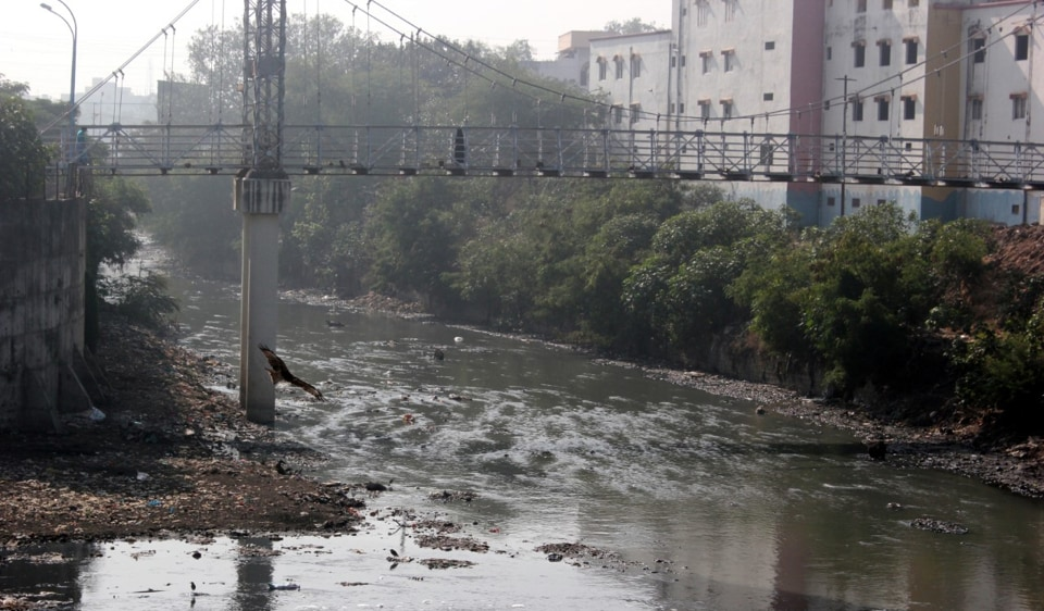 The municipal body is cleaning the river and clearing off encroachments alongside the 18.1 kilometre-long river.