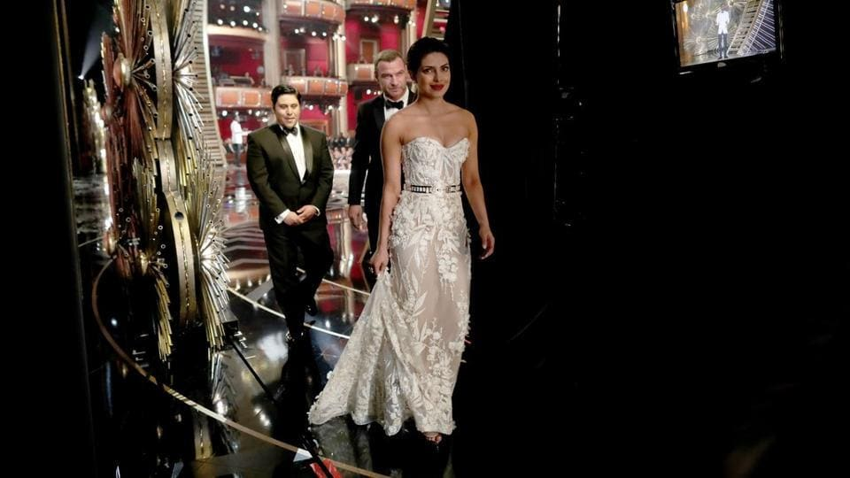 Google released its list of 2016's top searches and Priyanka Chopra's dress that she wore to the Oscars was on one of them. The dress was designed by Zuhair Murad. (AFP)