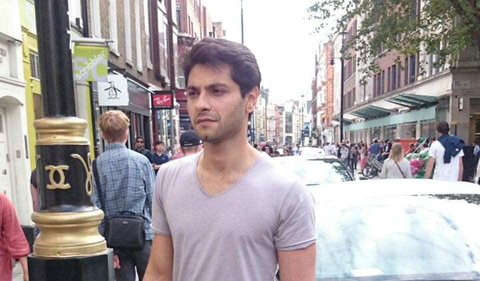 Actor Mishal Raheja decided to stay back in London during his last visit to the city.