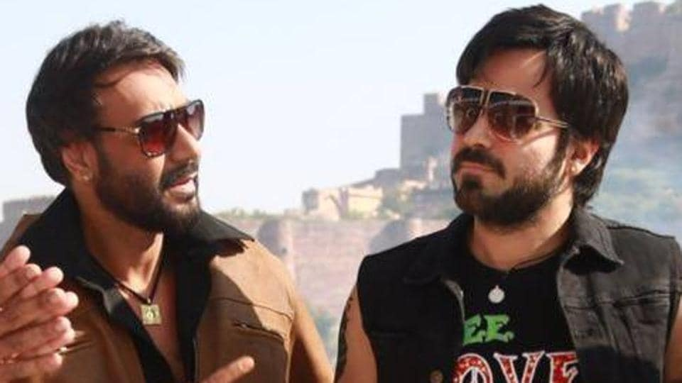Ajay Devgn and Emraan Hashmi reunite with Baadshaho after six years.