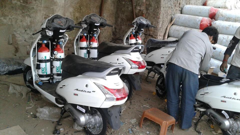 Mumbai,Two-wheelers,CNG