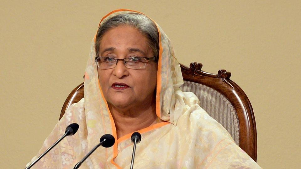 Sheikh Hasina has said that the war crimes trial in Bangladesh will continue like that of World War II in Germany.