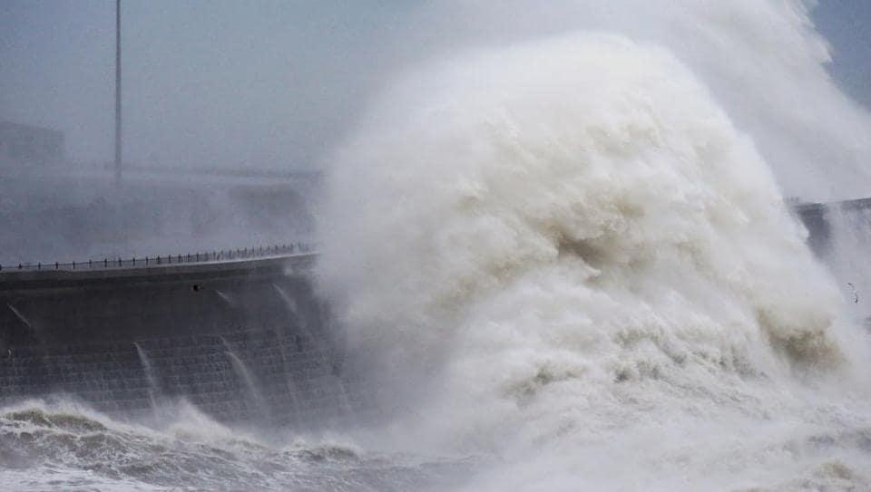 North Atlantic ocean,highest significant wave,World Meteorological Organisation