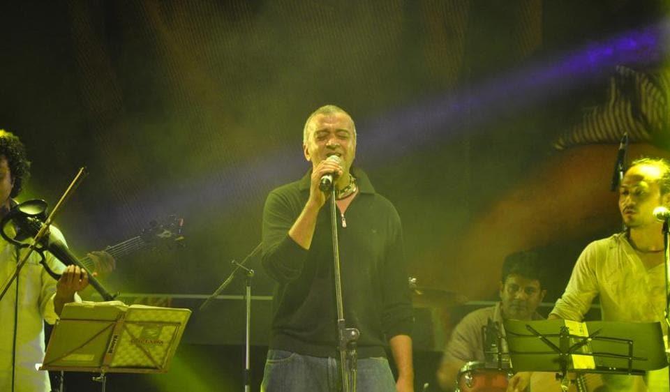 Singer Lucky Ali