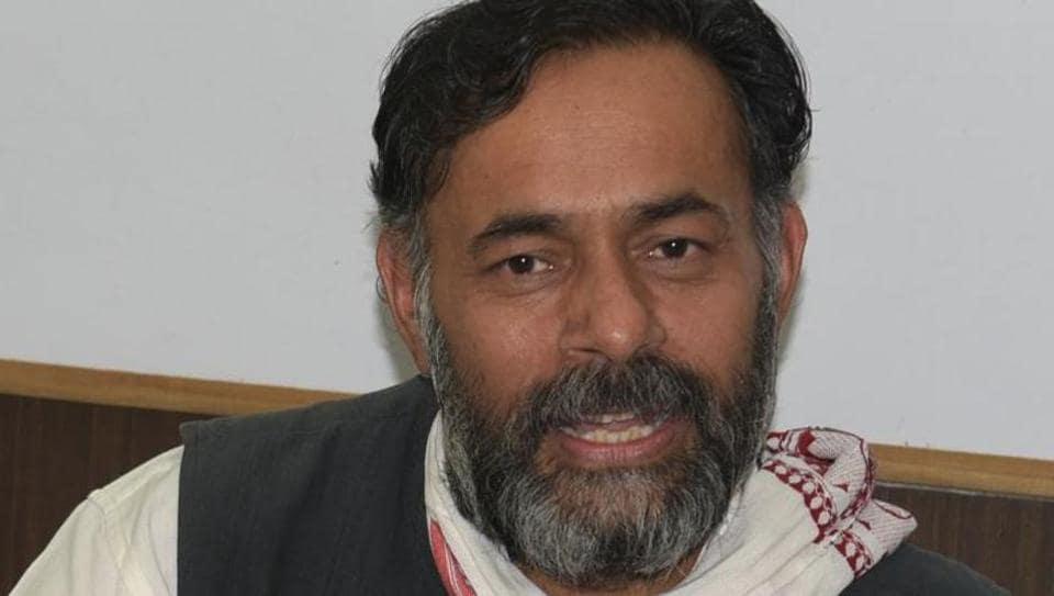 "Yogendra Yadav said demonetisation was just a ""pseudo war"" against black money."