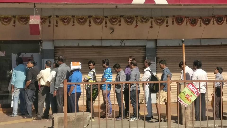 Serpentine lines outside ATMs have become a common sight since the government announced Rs 1000 and Rs 500 had been scrapped as a part of a crackdown on black money in the country.