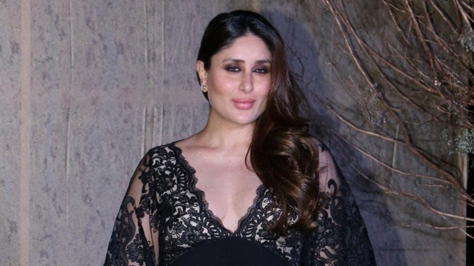 Mumbai: Actor Kareena Kapoor during the birthday celebrations of fashion designer Manish Malhotra, in Mumbai, on Dec 5, 2016. (Photo: IANS)