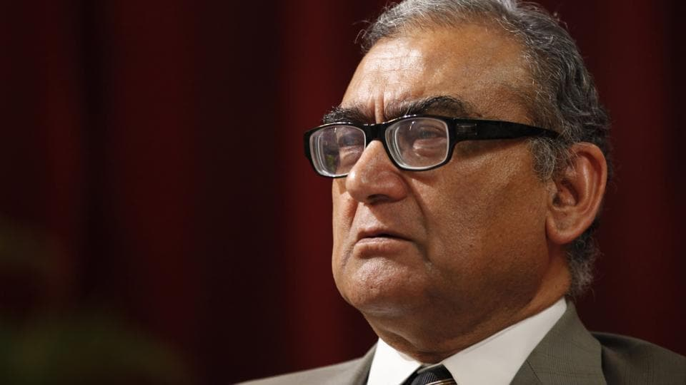 Former SC judge and chairman of Press Council of India Justice Markandey Katju, in Mumbai.