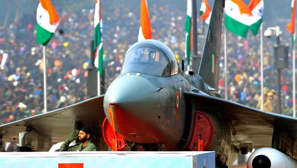 Indian Air Force regulations do not allow their personnel to grow a beard. Only Sikhs are allowed to do so since it is part of their basic religious tenets.