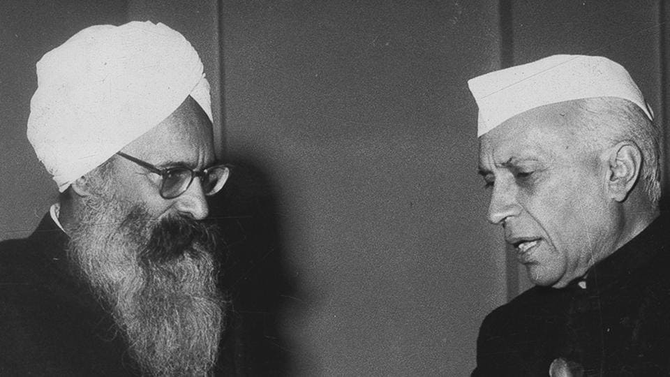 Then PM Jawaharlal Nehru with then Punjab chief minister Partap Singh Kairon in New Delhi on December 30, 1958. The two leaders shared a good chemistry. Adaish Partap Kairon
