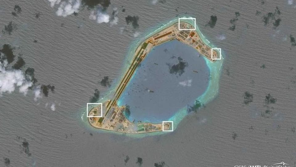 China put weapons on disputed islands