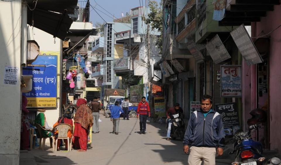 Thousands of migrant workers live in Mollahera village, and their lack of spending capacity in the wake of demonetisation has affected the economies of such villages in Gurgaon.