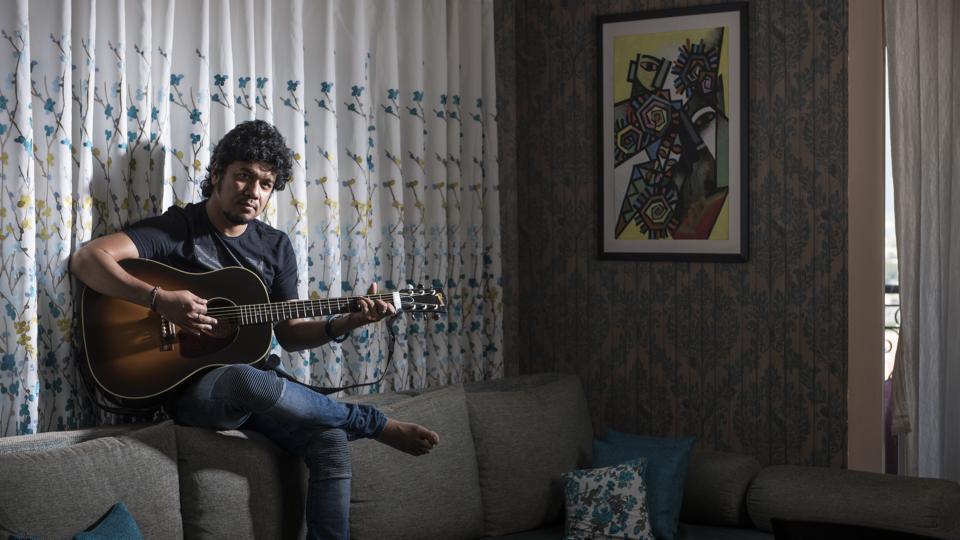 Singer Papon at his Goregaon Residence
