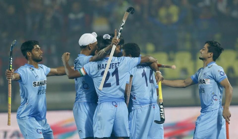 India beat Australia in shootout to reach the Hockey Junior World Cup where they will face Belgium.