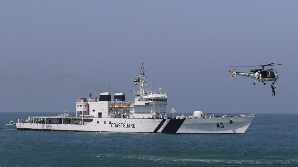 20% of the sanctioned posts in the Indian Coast Guard are vacant, Parliament was informed.