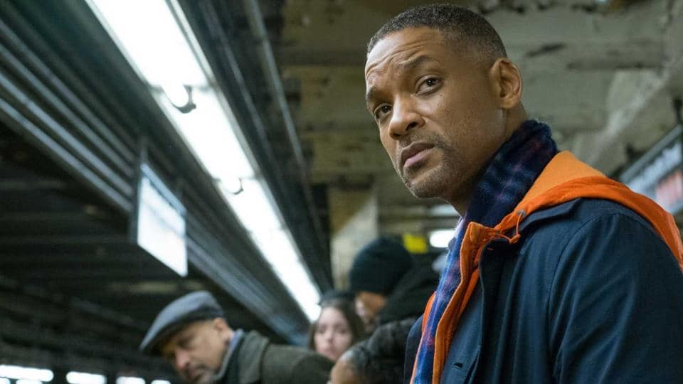 Here comes Will Smith in a red Santa suit bearing Collateral Beauty, the perfect holiday movie about dying children. Isn't that something to spread the cheer?