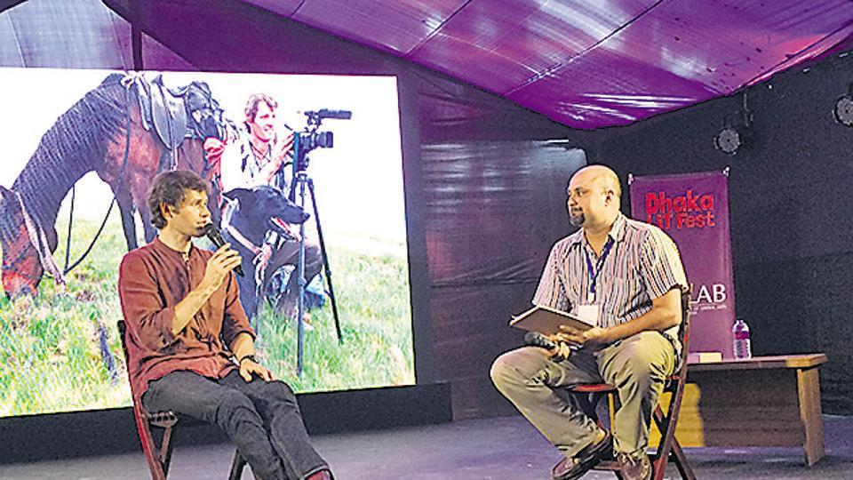 Dhaka Lit Fest 2016,Vijay Seshadri,VS Naipaul