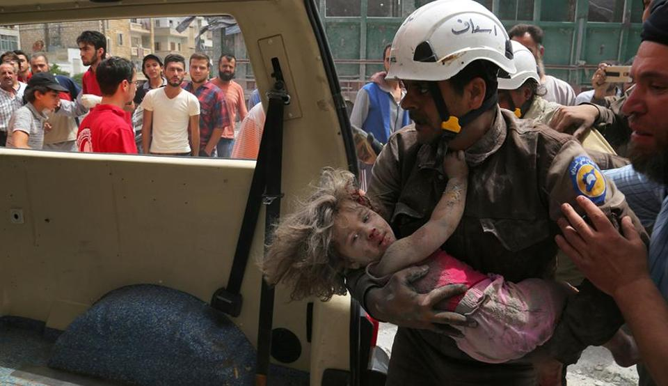 Air and ground strikes have killed hundreds of civilians and left hundreds of thousands without homes, food and water.