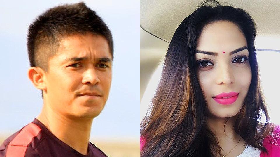 Sunil Chhetri will marry former Indian football captain Subroto Bhattacharya's daughter, Sonam in 2017.