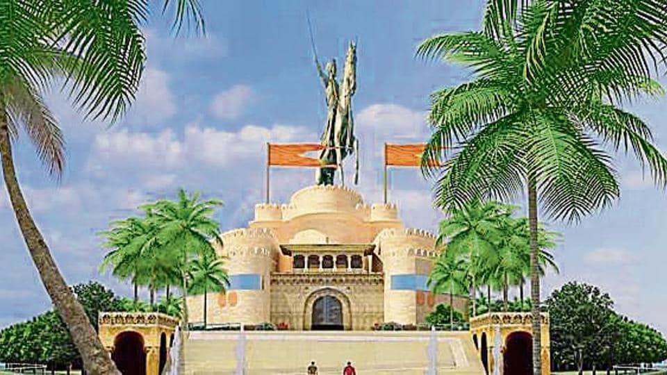 shivaji memorial,Prime Minister Narendra Modi,AMMKS