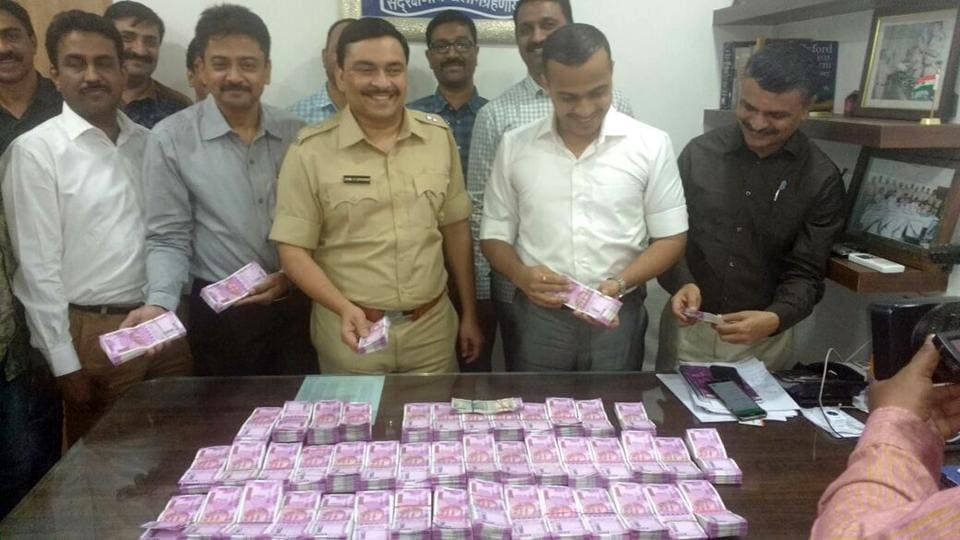 Police stopped the car during vehicular checking near Juhu Tara Complex at around 7 pm. Upon checking, the cash was discovered.