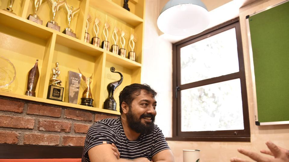 Film-maker Anurag Kashyap is gearing up for his next project- a love story set in UP.