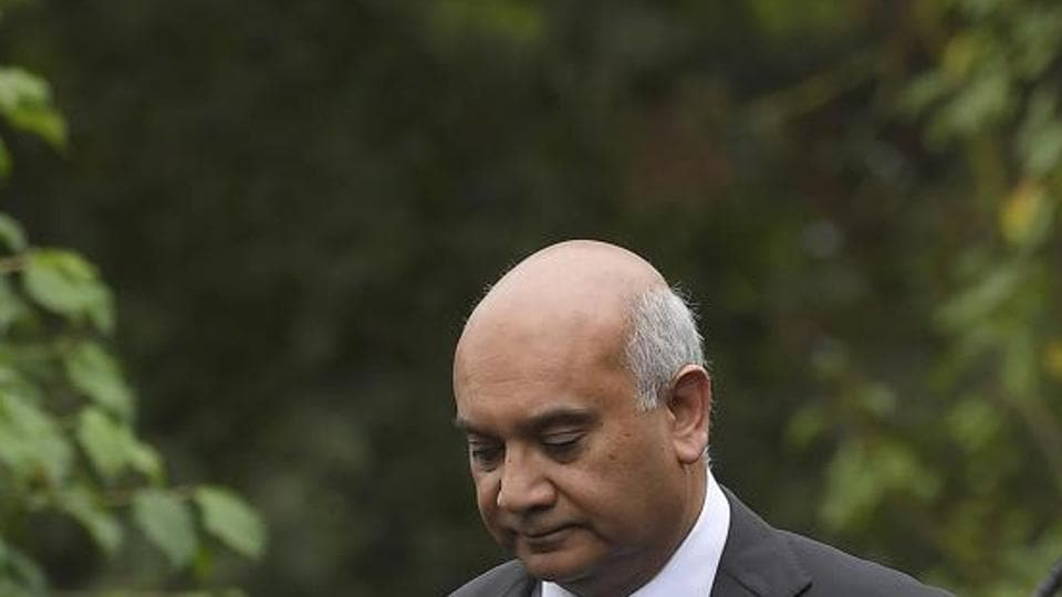 British opposition Labour party MP Keith Vaz leaves his home in north west London, Britain September 5, 2016. REUTERS/Toby Melville