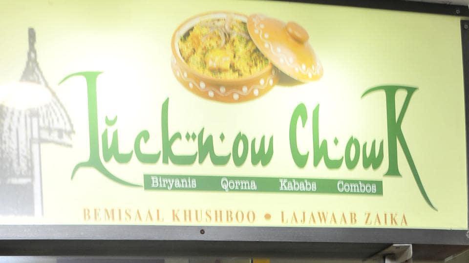 Lucknow Chowk food stall in Hotel Aroma Food court in Sector 22 , Chandigarh on Thursday.