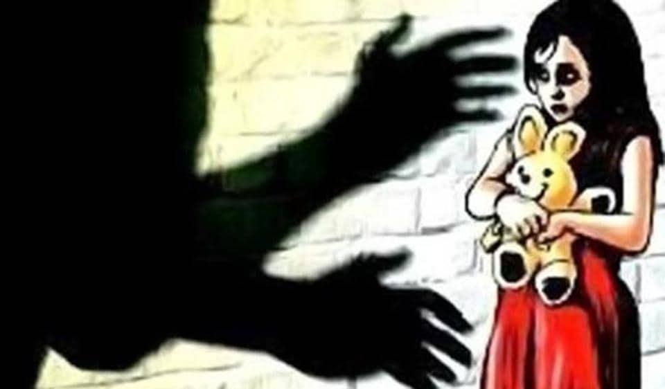 five-year-old raped